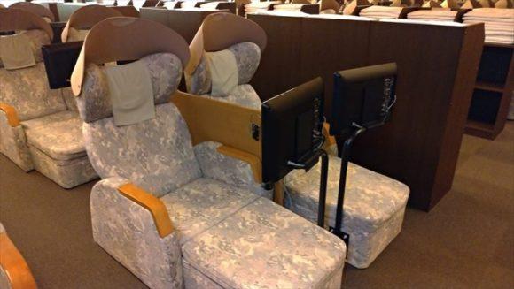 新千歳空港温泉休憩室