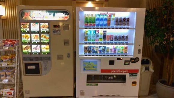 新千歳空港エアターミナルホテル自動販売機