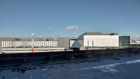 新千歳空港エアターミナルホテルからの眺望