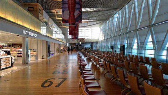 新千歳空港国際線ターミナル保安検査通過後ゾーン