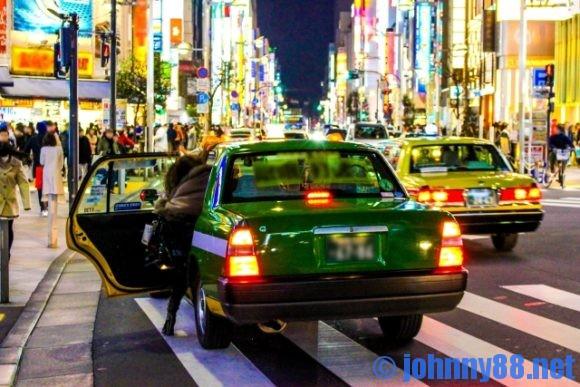 札幌市内のタクシー乗り場