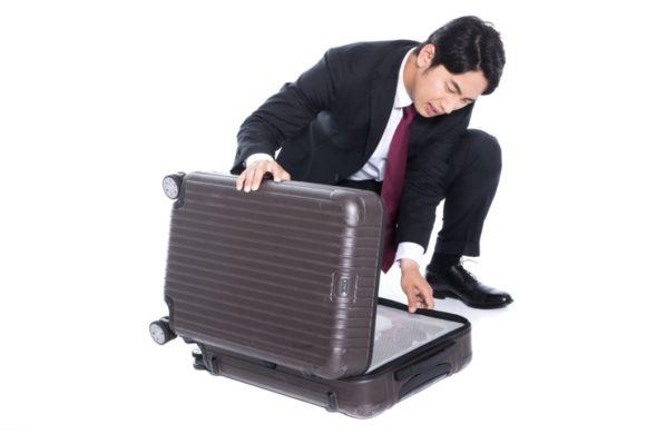 新千歳空港で忘れ物をした男性
