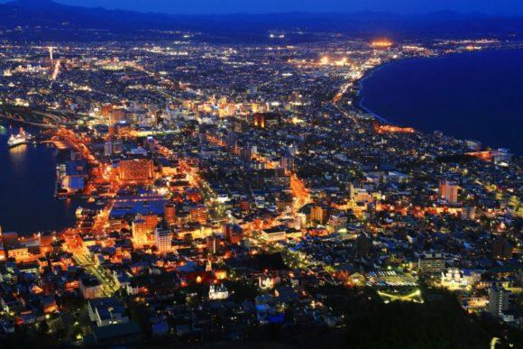 函館山から見た夜景