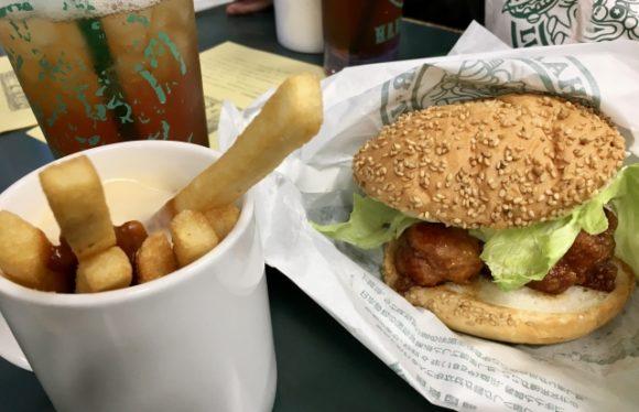 ラッキーピエロのハンバーガー