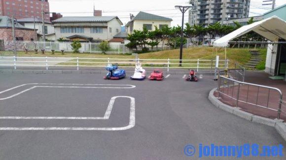 函館市熱帯植物園のバッテリーカー