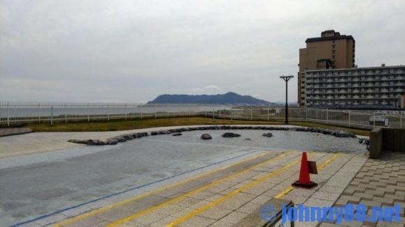 函館市熱帯植物園の水の広場