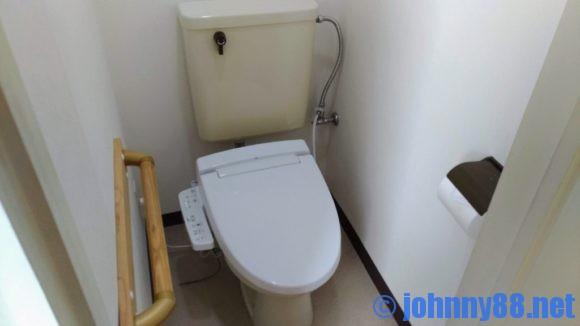A-GATE HOTEL HAKODATEの客室トイレ