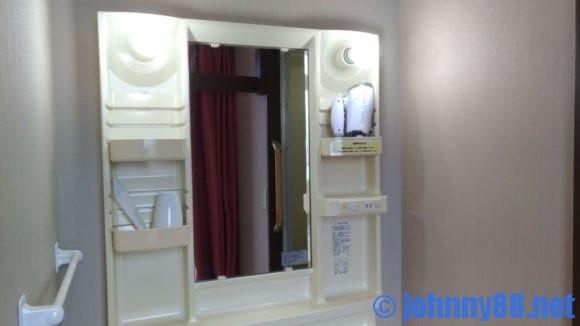 A-GATE HOTEL HAKODATEの洗面台