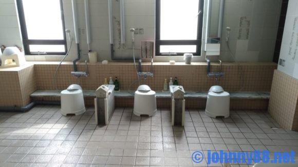 A-GATE HOTEL HAKODATEの大浴場洗い場