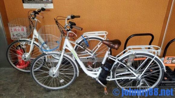 A-GATE HOTEL HAKODATEの電動自転車
