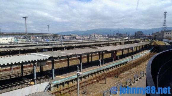 函館駅展望デッキ
