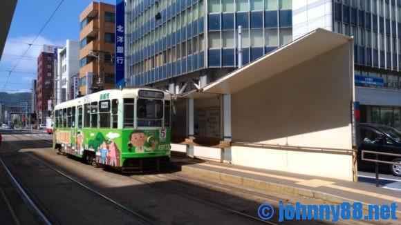 市電函館駅前停留所