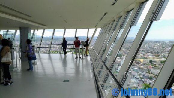 五稜郭タワー展望室
