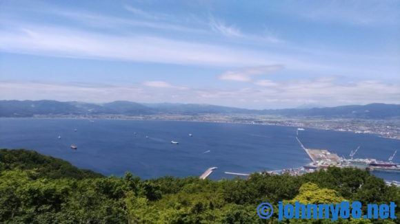 函館山の眺望