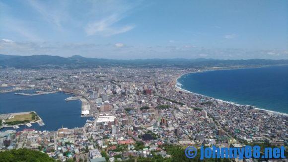 函館山から見た眺望