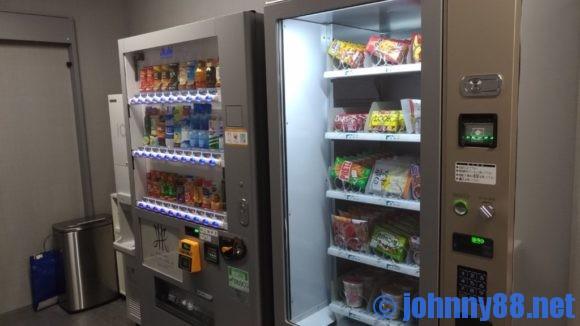 センチュリーマリーナ函館の自動販売機