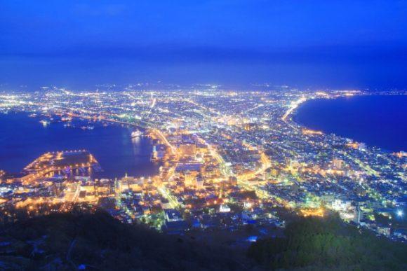 函館山から見る夜景