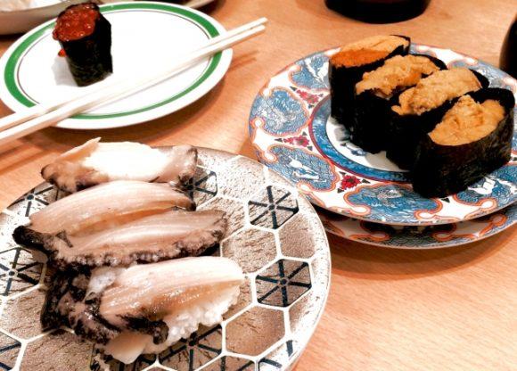 函館の回転寿司