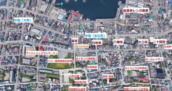 元町エリア観光マップ