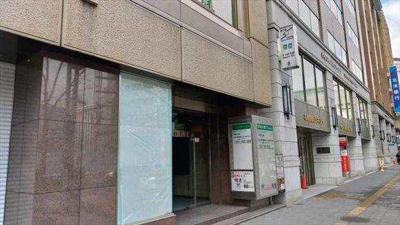 札幌日興ビル最寄り地下鉄出口