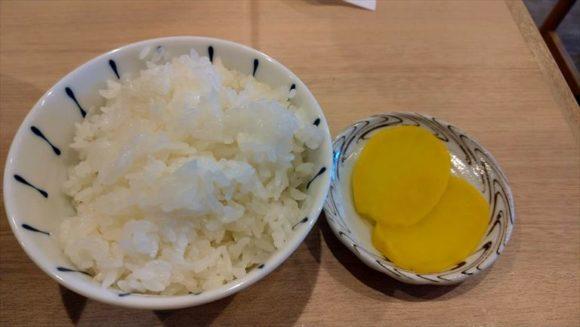 札幌麺屋 美椿のライス