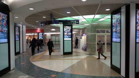 札幌駅から地下鉄東豊線へのアクセス