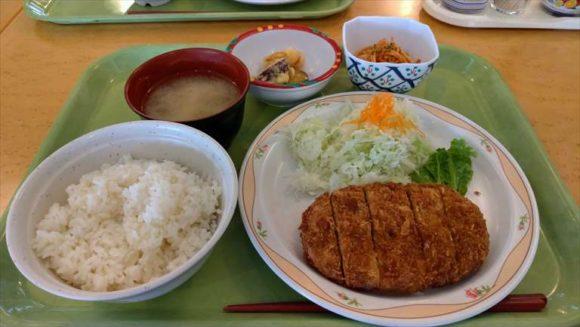 ポリテクセンター北海道食堂のB定食