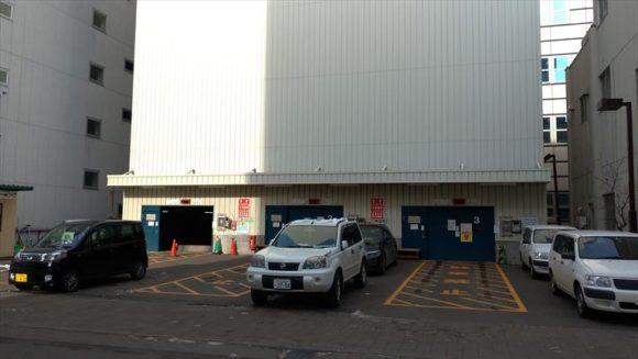クリスタルタワー駐車場