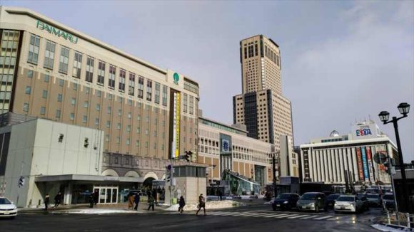 札幌駅南口