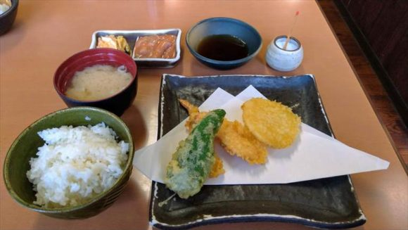天ぷら徳家の定食