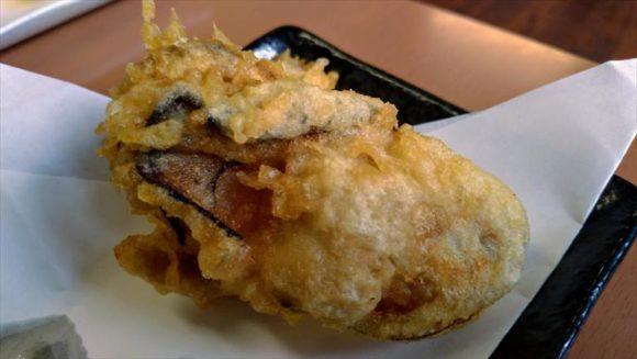 天ぷら徳家の牡蠣