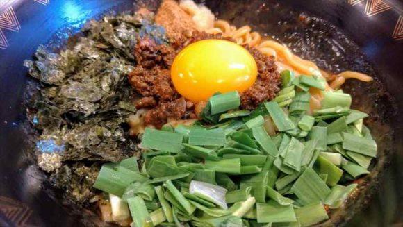 三代目麺将 清正の台湾まぜそば