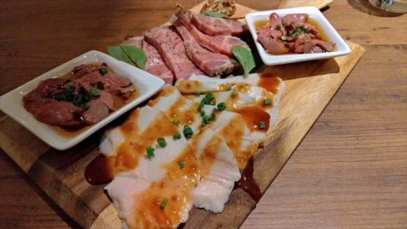 牡蠣×牛ステーキ2種食比べ豊西牛&アンガス牛 全8品飲放コース
