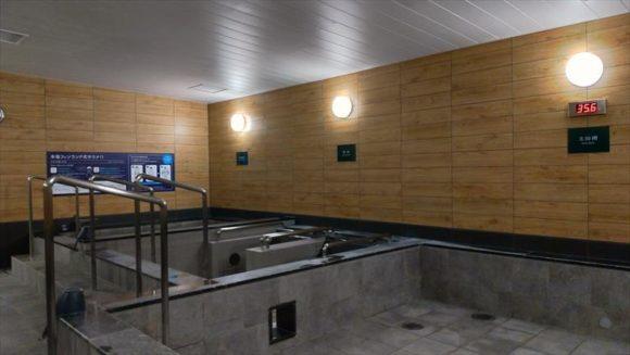 GARDENSCABINの大浴場