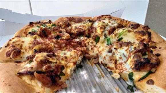 ピザハットのふっくらパンピザ