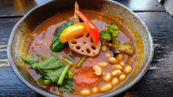 SAMURAIの野菜13品目のカレー