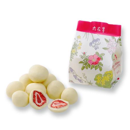 北海道札幌おすすめ銘菓六花亭のストロベリーチョコ