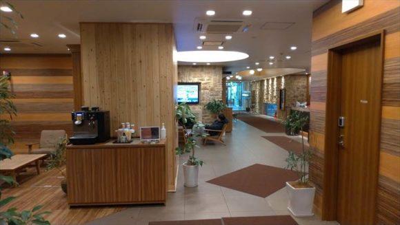 ドーミーイン札幌の無料コーヒー