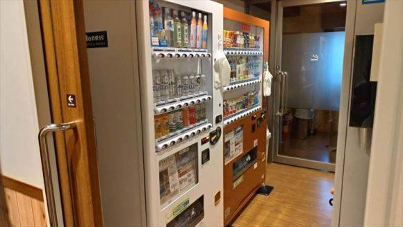 ドーミーイン札幌の自動販売機(2階)