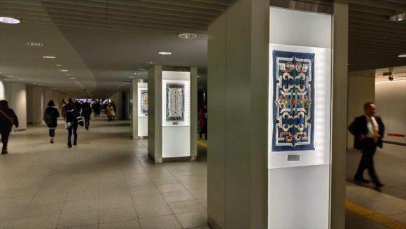 札幌駅前通地下歩行空間のアイヌ文化展示