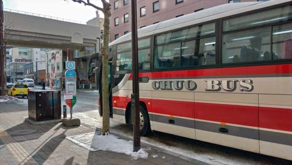 新千歳空港連絡バス