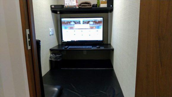 DICE札幌狸小路本店のフラットルーム