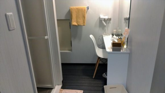 DICE札幌狸小路本店のシャワールーム