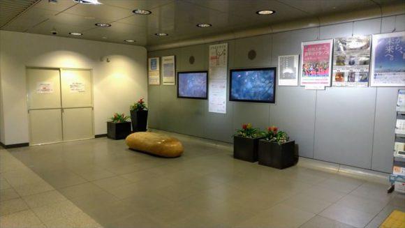 札幌駅前通地下歩行空間休憩スペース
