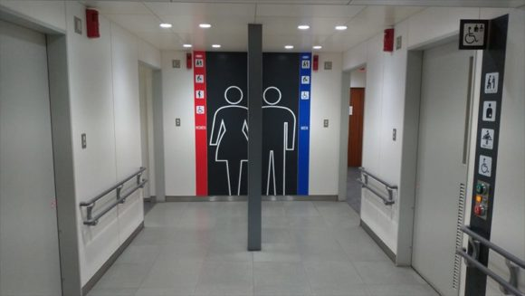 札幌駅前通地下歩行空間(チカホ)のトイレ