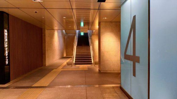 札幌駅前通地下歩行空間4番出口
