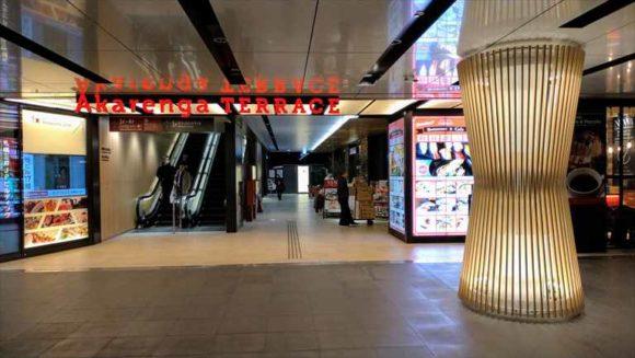 札幌駅前通地下歩行空間赤レンガテラス直結出口