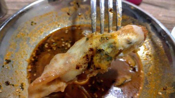 アジアンスープカレーべすのフィッシュフライ