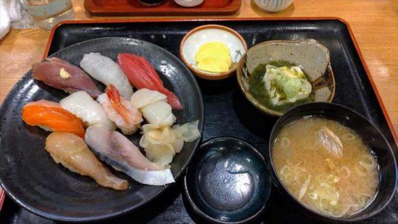 和処さゝ木のランチ生寿司