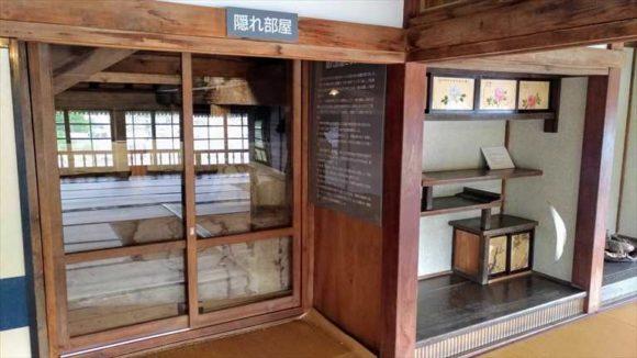 小樽鰊御殿の隠れ部屋